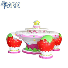 hot sale amusement park Strawberry shape equipment art sand and water table