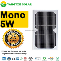 Yangtze high efficiency mono solar panel 5w