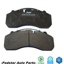 european bus spare parts daf break pads and disc 29105 for big truck benz actros