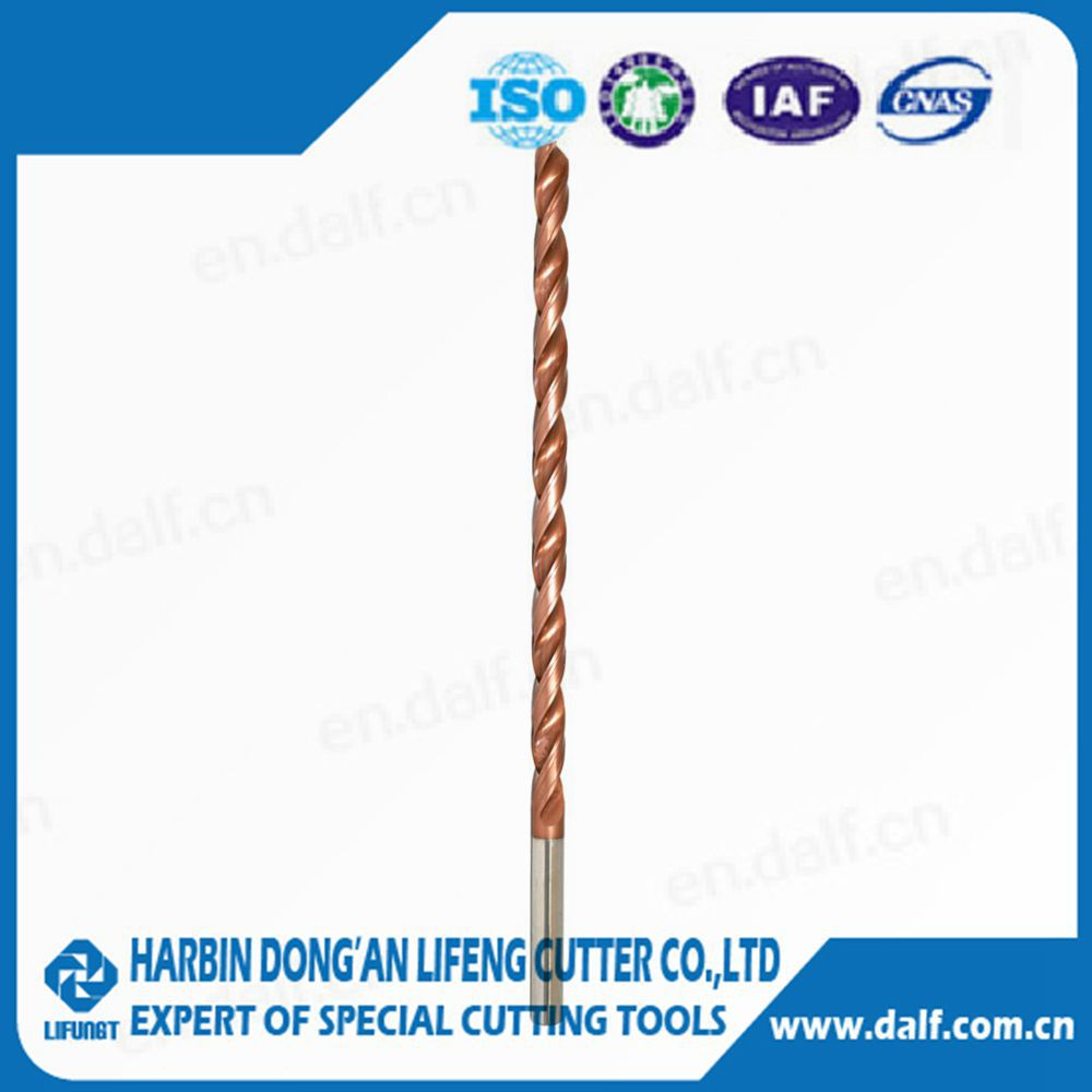 straight shank tungsten carbide coating twist drill bit