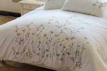 Wholesale 3PC Cotton Embroidery Duvet cover Set for Hotel