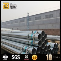 galvanized steel tube,greenhouse pipe,electro galvanized steel round pipe