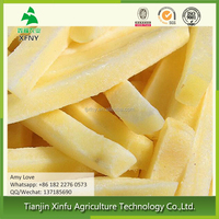 China's healthy frozen sliced french fries potato products