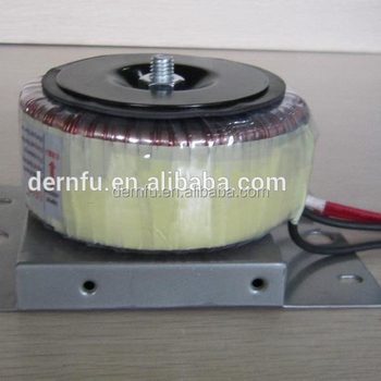 Waterproof Ring Transformers, Waterproof toroidal transfomer, EI transformer, www.dernfu.cn