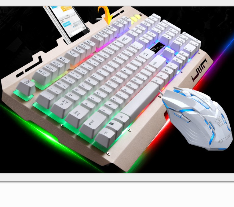 2017 Newest Custom Gaming Keyboard And Mouse Combo With LED Backlight