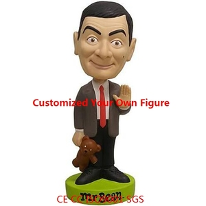 New stylish british actor bobble head,design your own bobblehead toys,OEM customized pvc bobblehead factory