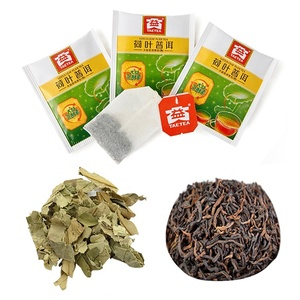 100% Nature tea Lotus Leaf Tea Pu'er teabags weight loss effective tea