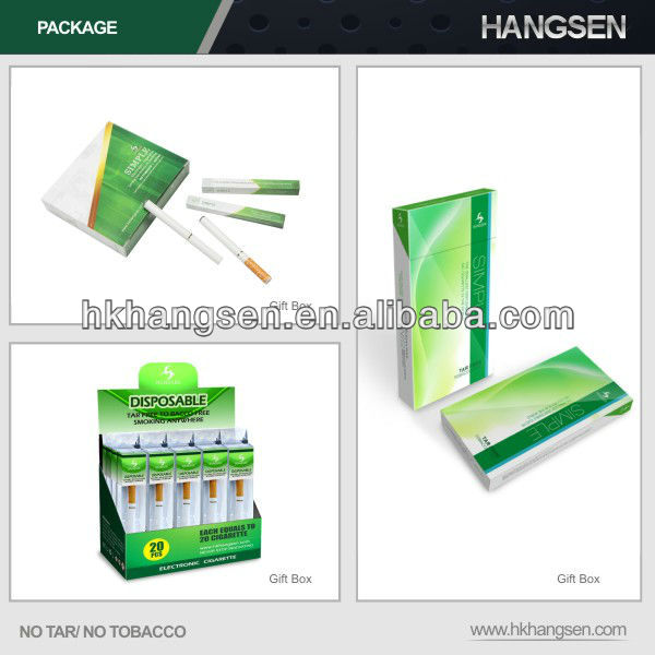 No flame e-cigarette with over 300 Hangsen flavors - Hangsen holding co ltd