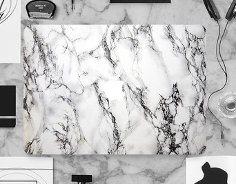 competitive price laptop Accessories marble surface for marble skin sticker macbook pro air