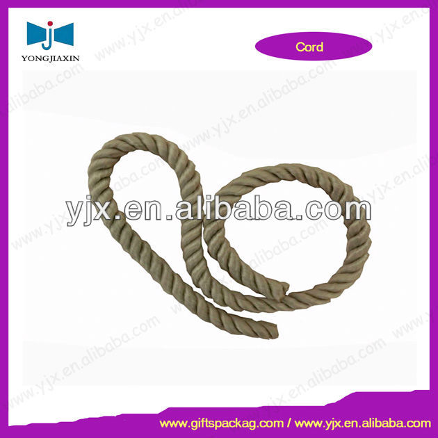 Twisted Rayon Rope for paper bag