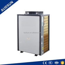 Heat Pump Factory 60HZ Latin Market High Temp. air to water heater,80deg water hotels/factories industry processing, chemical