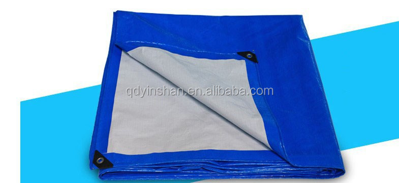 90gsm 140gsm 160gsm 180gsm 200gsm pe korea tarpaulin laminated fabric hdpe and ldpe tarpaulin sheet or roll factory supply
