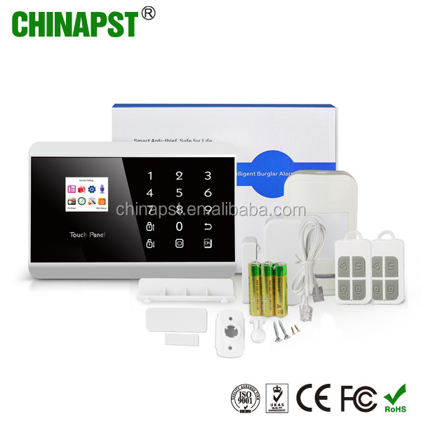 2017 Best China Factory Wireless GSM/PSTN dual network security burglarproof home burglar alarm system PST-PG992TQ