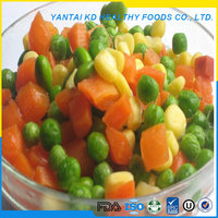 Good 3 Types Iqf Mixed Vegetables
