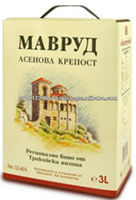 Bag In Box 3L Bulgarian Mavroud Red Wine