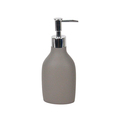 Ceramic finish grey 3pcs china bathroom accessories sets,resin bathroom accessories