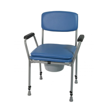 China Supplier Aluminum Folding Toilet Commode chair for Disabled