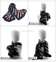 Durable original raw silk woven scarves
