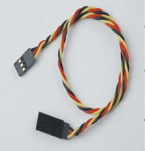 15cm 45cm 90CM twisted extension servo cable wire lead Futaba JR