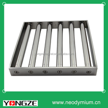 Super neodymium magnetic grate for food industry