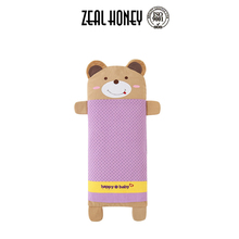 Zealhoney Good Quality Colorful Cotton Baby Animal Pillow with Buckwheat Shell