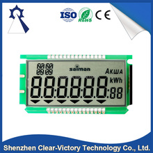 High contact OEM in manufactory 7 segment lcd module display, 7 Segment TN LCD module