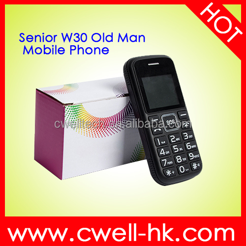 Made in China Mobile Phone Low Price Feature Mobile Phone W30 Cell