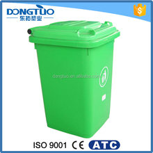 Outdoor trash can 50L, eco friendly custom made trash cans