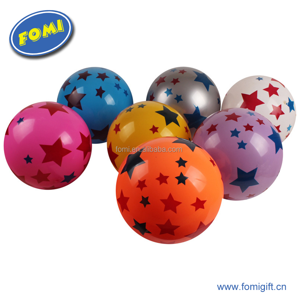 12 inch pvc toy expandable ball for kids customized skip pat ball toy ball wholesale