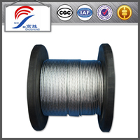 UNGALV Steel Wire Ropes ,BLACK COLOR 12mm