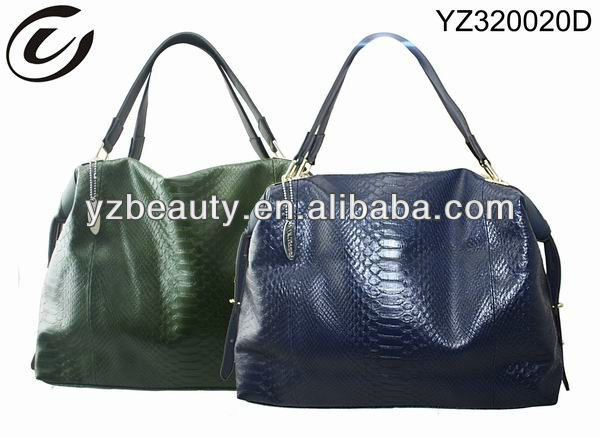 2013 leading the trend oil leather hobo bag
