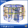Rope course adventure park/old kids indoor playground for sale