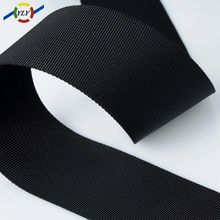 woven elastic tape / nylon webbing with reflective / golf bag shoulder strap pads