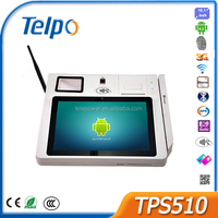 Telepower TPS510 3G Android POS Terminal Touch Screen programmable Cash Register Hand-held Data collection Devices