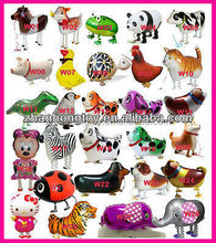 2016 factory price new design mylar walking pet balloon for sales