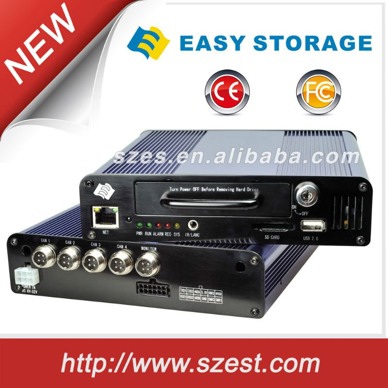 4ch Compact H.264 Network DVR