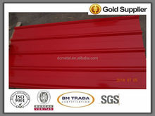 hot dipped corrugated aluminum sheet metal in many colors