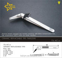 ceramic head tweezers