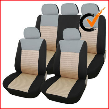 9-Piece Car Vehicle polyester car seat cover