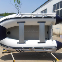 PVC Inflatable Sport Boat With Airmat