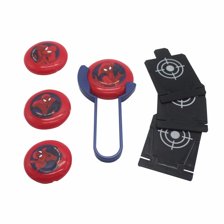 Promotional Outdoor Flying Disc Launcher Toys For Kids