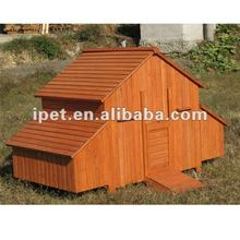 7FT Large Outdoor Wooden Chicken House with 2 Nesting Box without Run