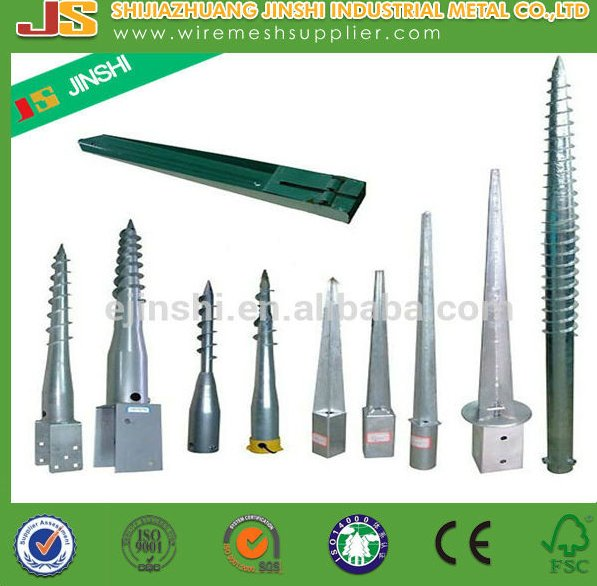 New product High Quality Ground Screw/ground screw anchor/ground screw pole anchor for construction Factory Provide