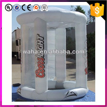 Good quality inflatable inflatable money booth cash cube for sale