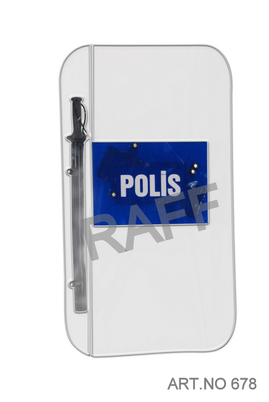 Police Officer Shield With Logo