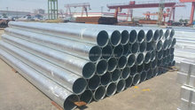 high quality galvanized/painting presevation treatment steel productions