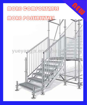 Scaffolding Stair System With Assembly Design