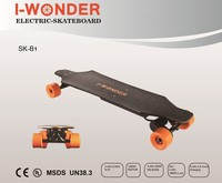 I-WONDER 1200w 4.4AH Brushless Motor with Hall Sensor 4 Wheels SK-B1 Portable RC Electric Skateboard