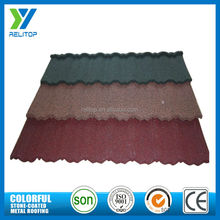 Roofing material stone coated waterproof spanish roof tiles