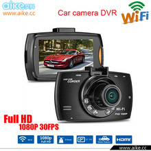 2016 New WiFi Car DVR Video Recorder Camera wifi camera 1080P Night Vision DVRS Dash Cam 170 Degree Support Apple Andriod